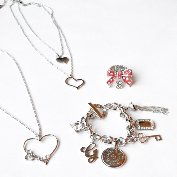 BUNDLE Guess 4 pc Jewelry Set
